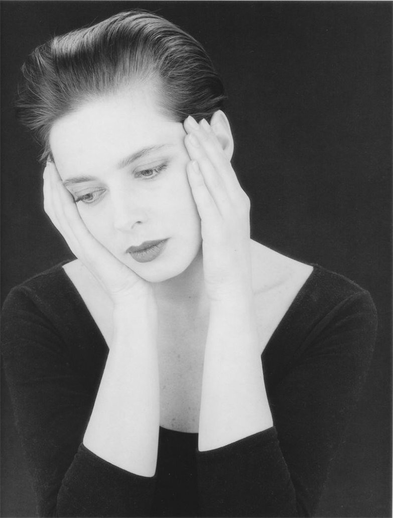 Isabella Rossellini, by Robert Mapplethorpe