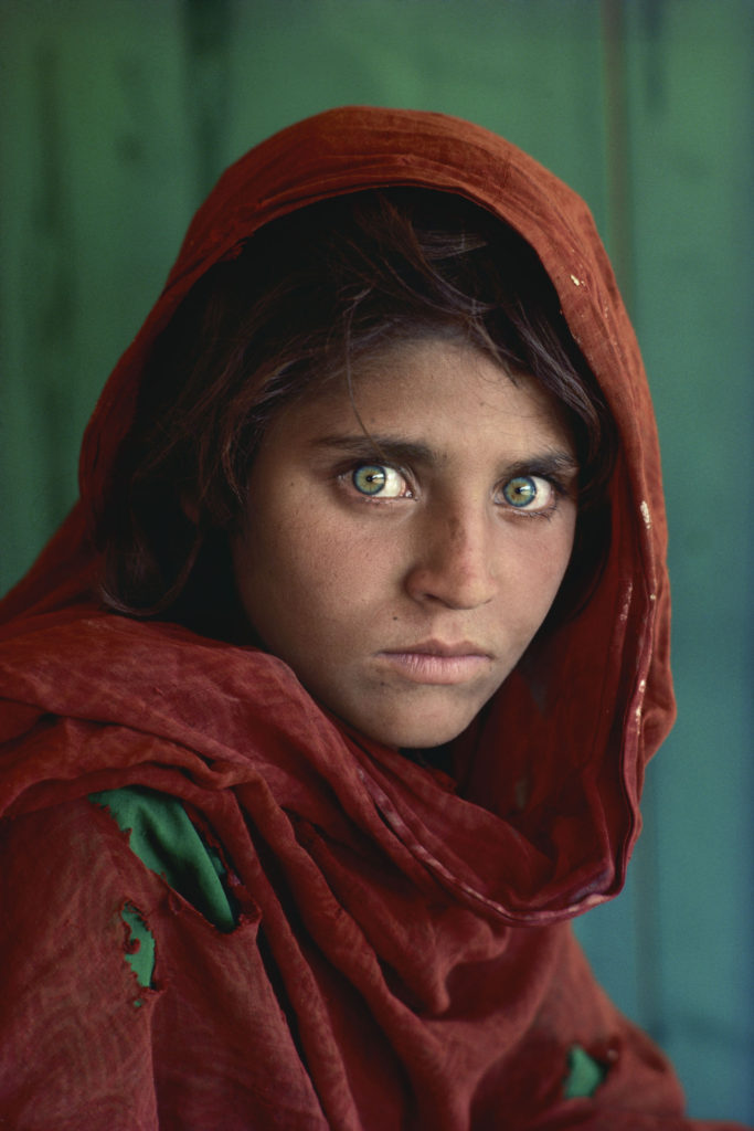 Sharbat Gula, 13, by Steve McCurry