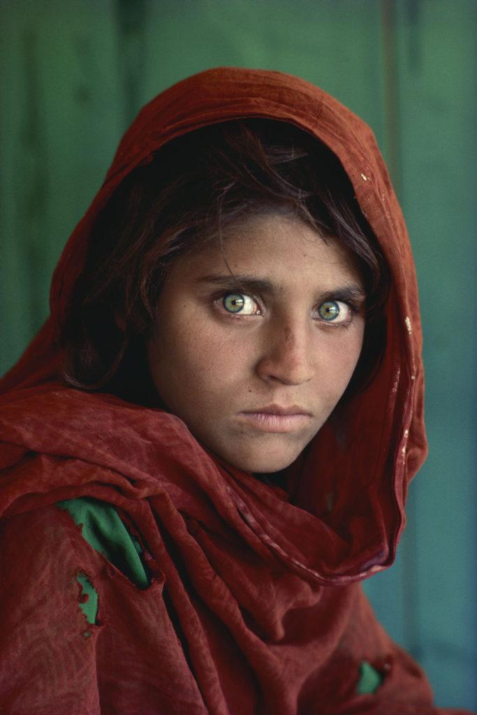 Sharbat Gula, 13, by Steve McCurry