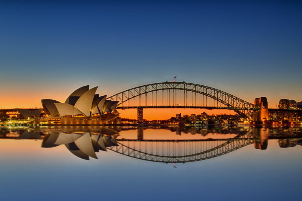 Sydney - Opera and Harbour Bridge