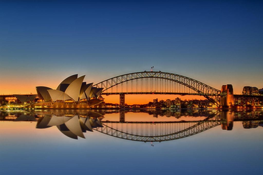 Sydney - Opera and Harbour Bridge