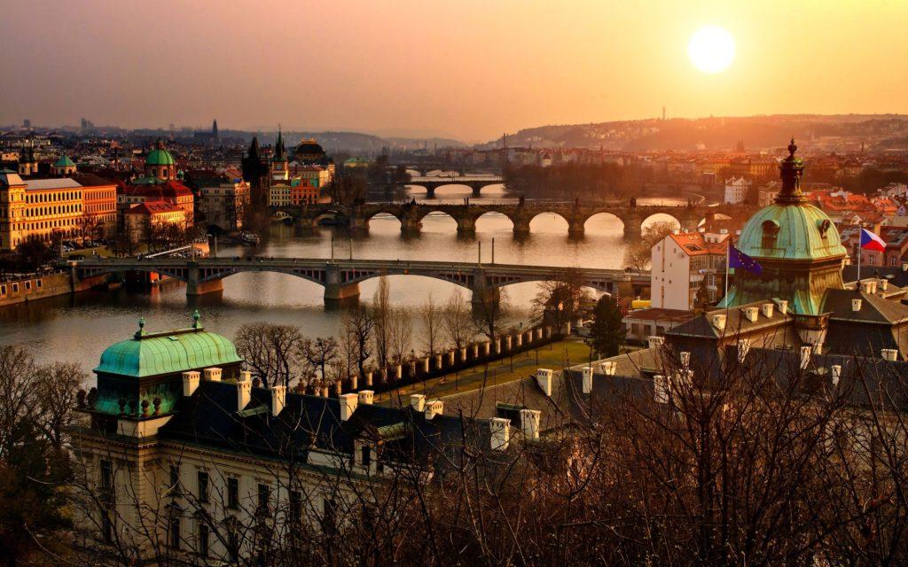 Prague bridges, Czechia