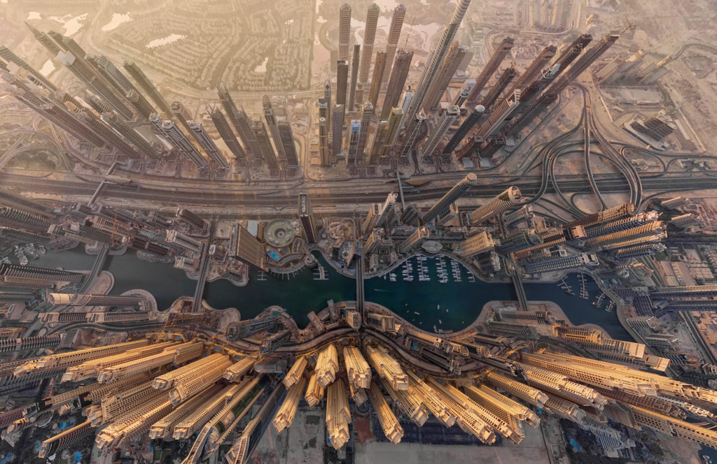 Dubai from the top