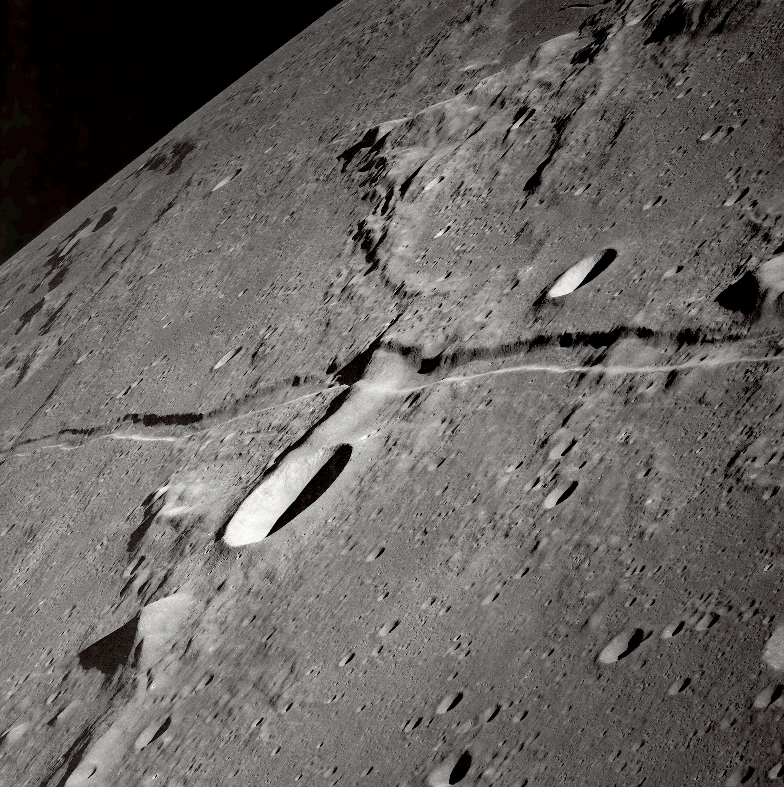 The Moon, from Apollo 10