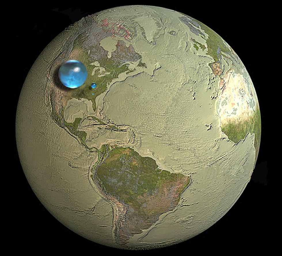 World - water