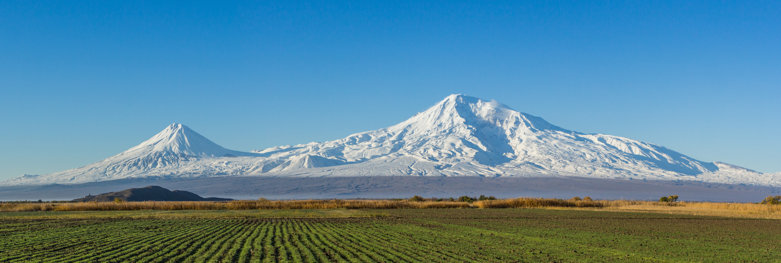Mount Ararat, Turkey, and the Araratian plain, Armenia
