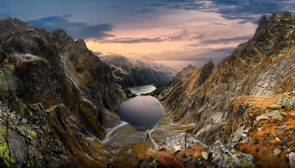 Black Lake, Mount Rysy, Poland