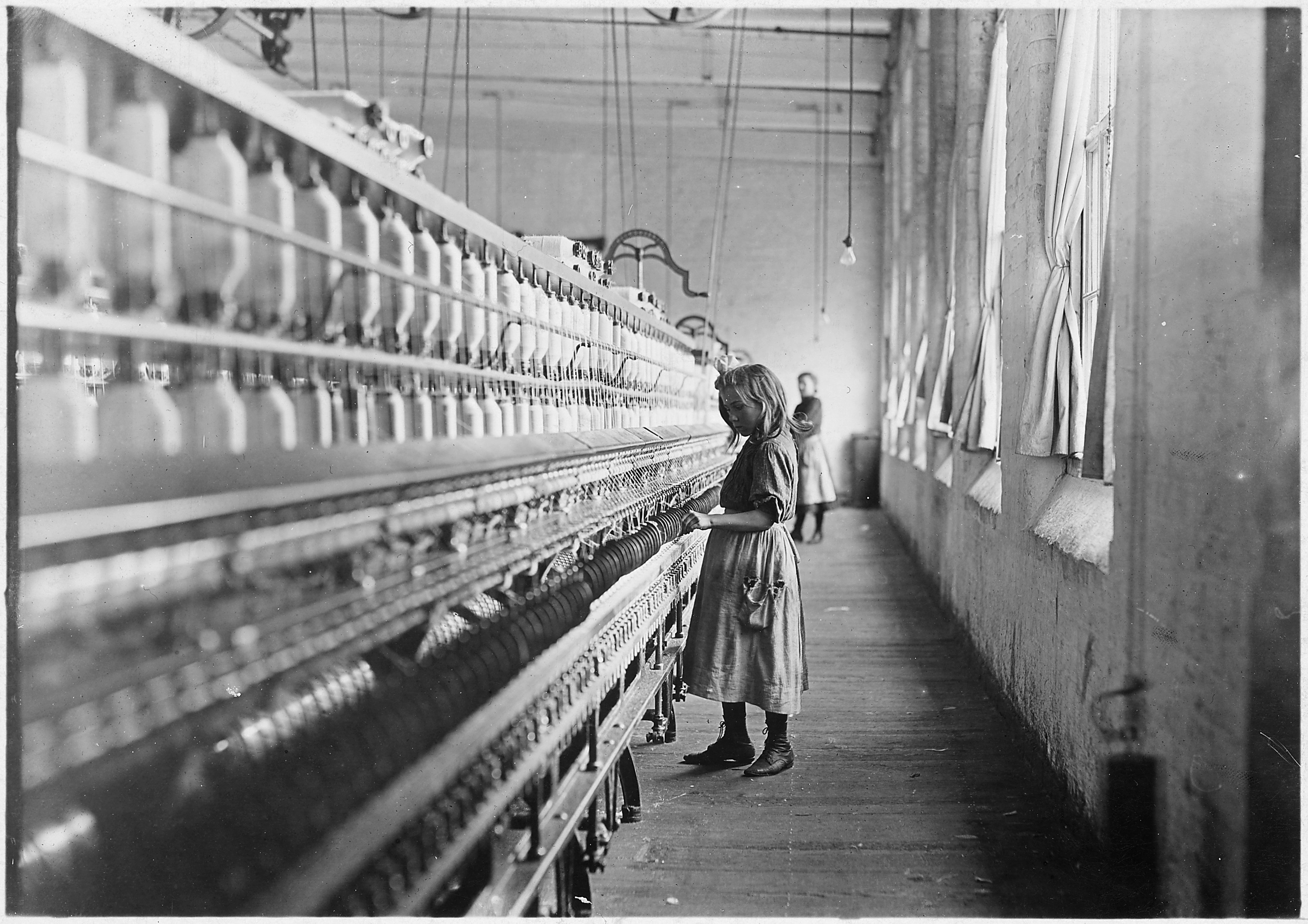 Sadie Pfeifer, young girl working in Lancaster Cotton Mills, South Carolina, 1908