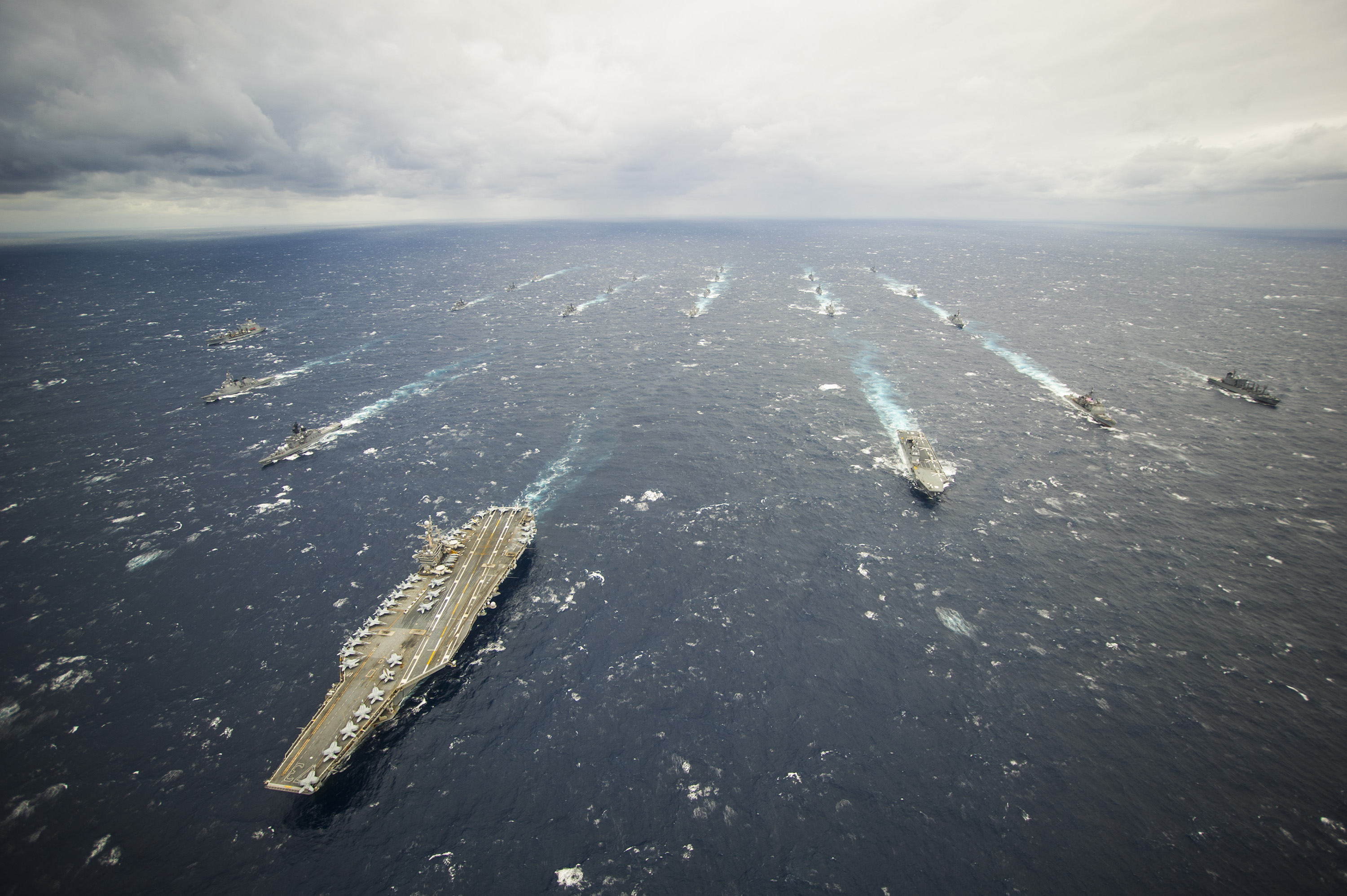 aircraft carrier USS George Washington strike group