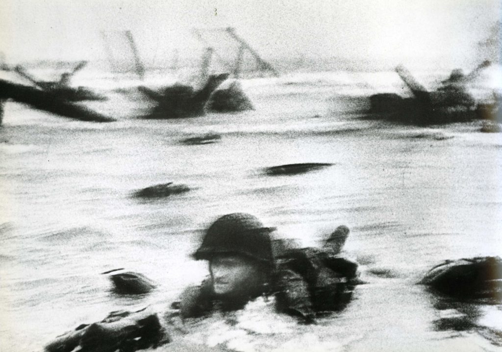 Omaha Beach, D-Day Landing, 1944