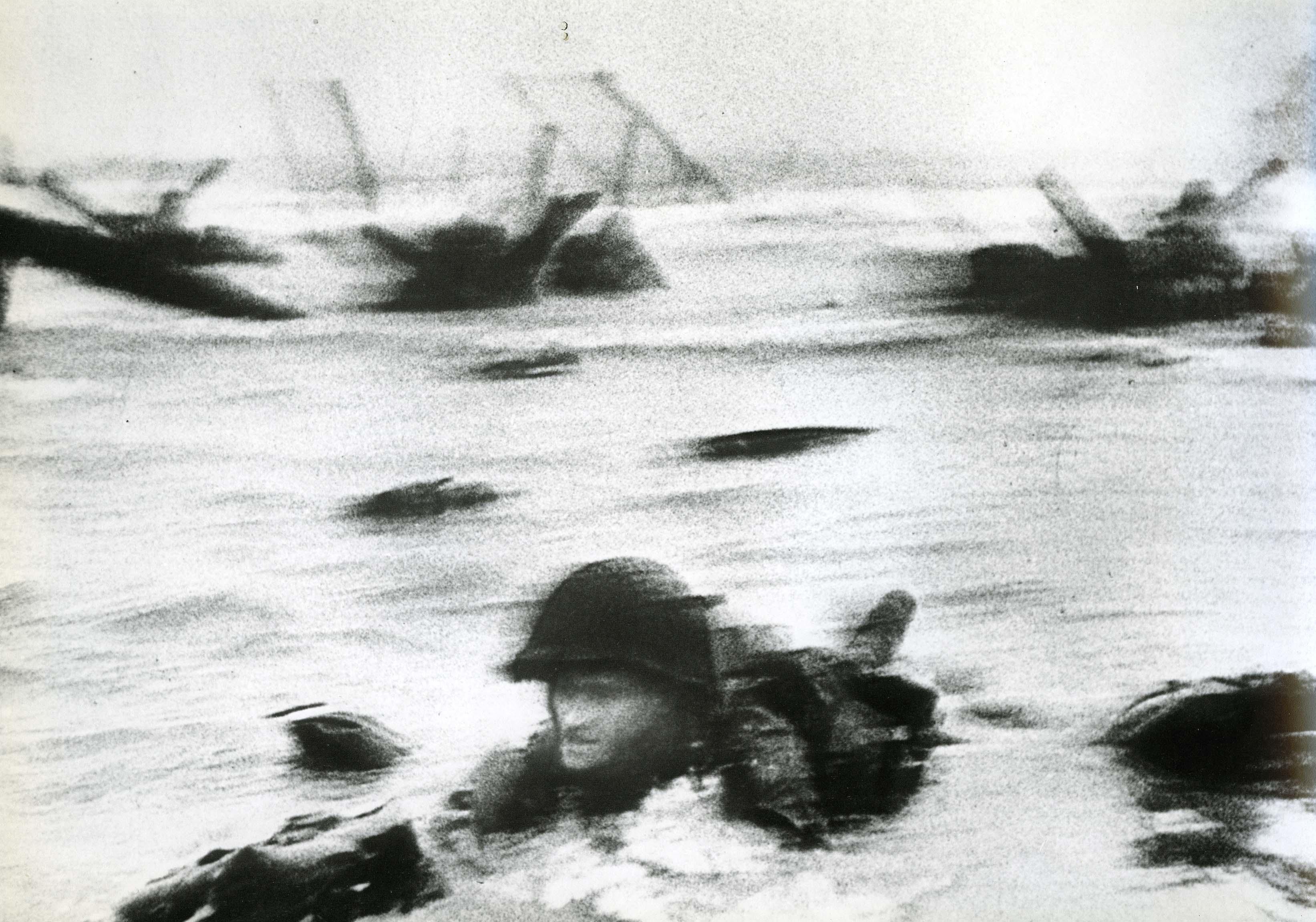Omaha Beach, D-Day Landing, 1944