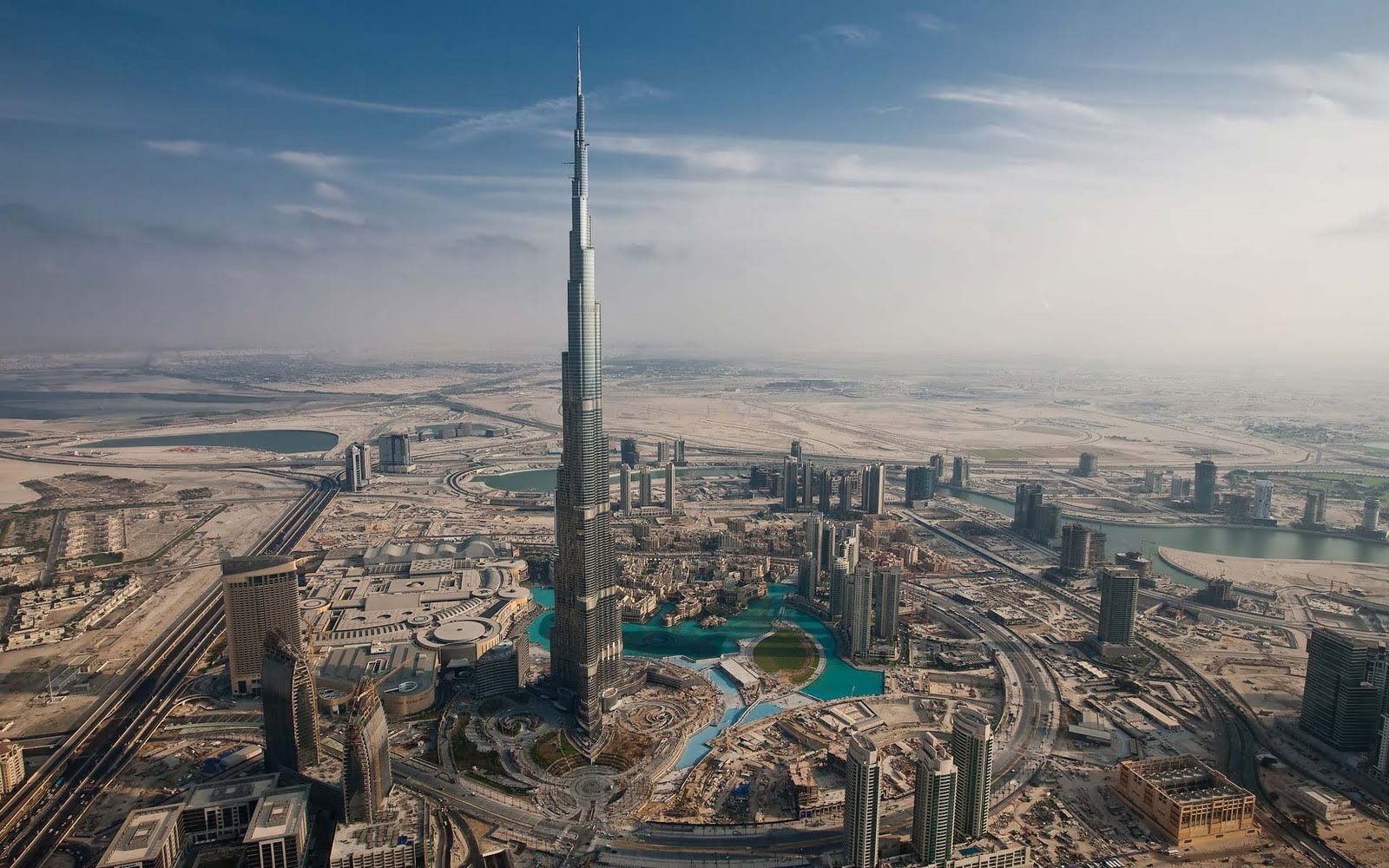 Burj Khalifa Tower, Dubai, UAE