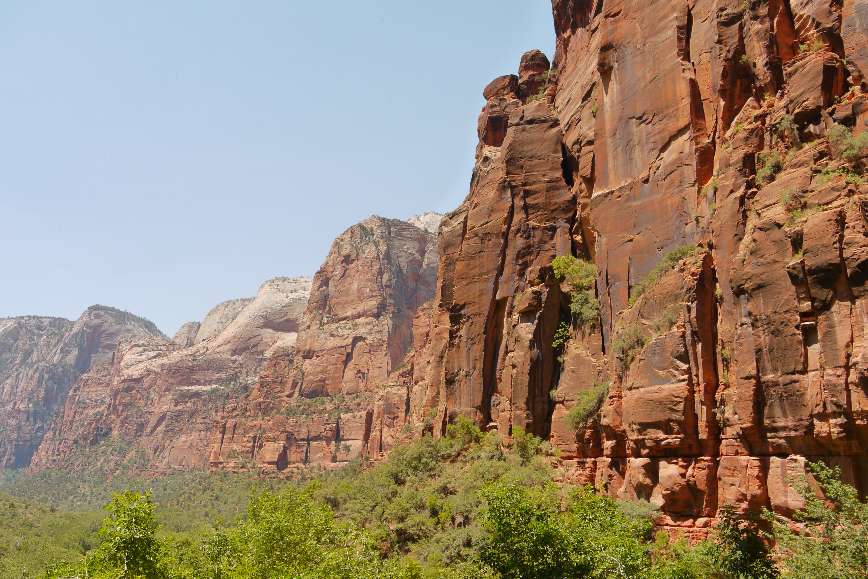 Zion cliffs