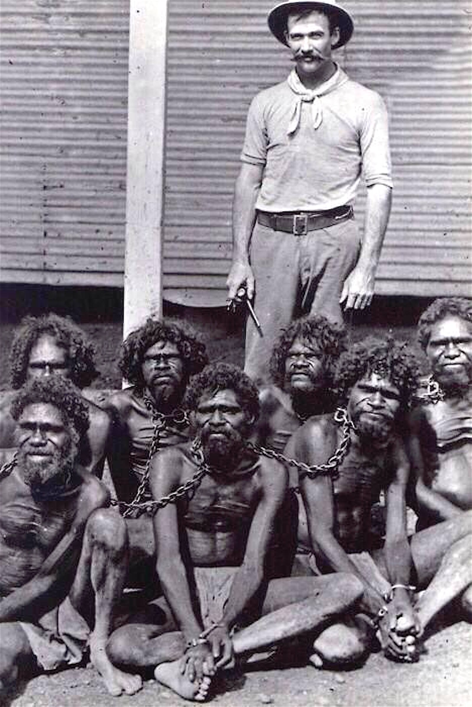 Aboriginal slaves, Australia, 1900