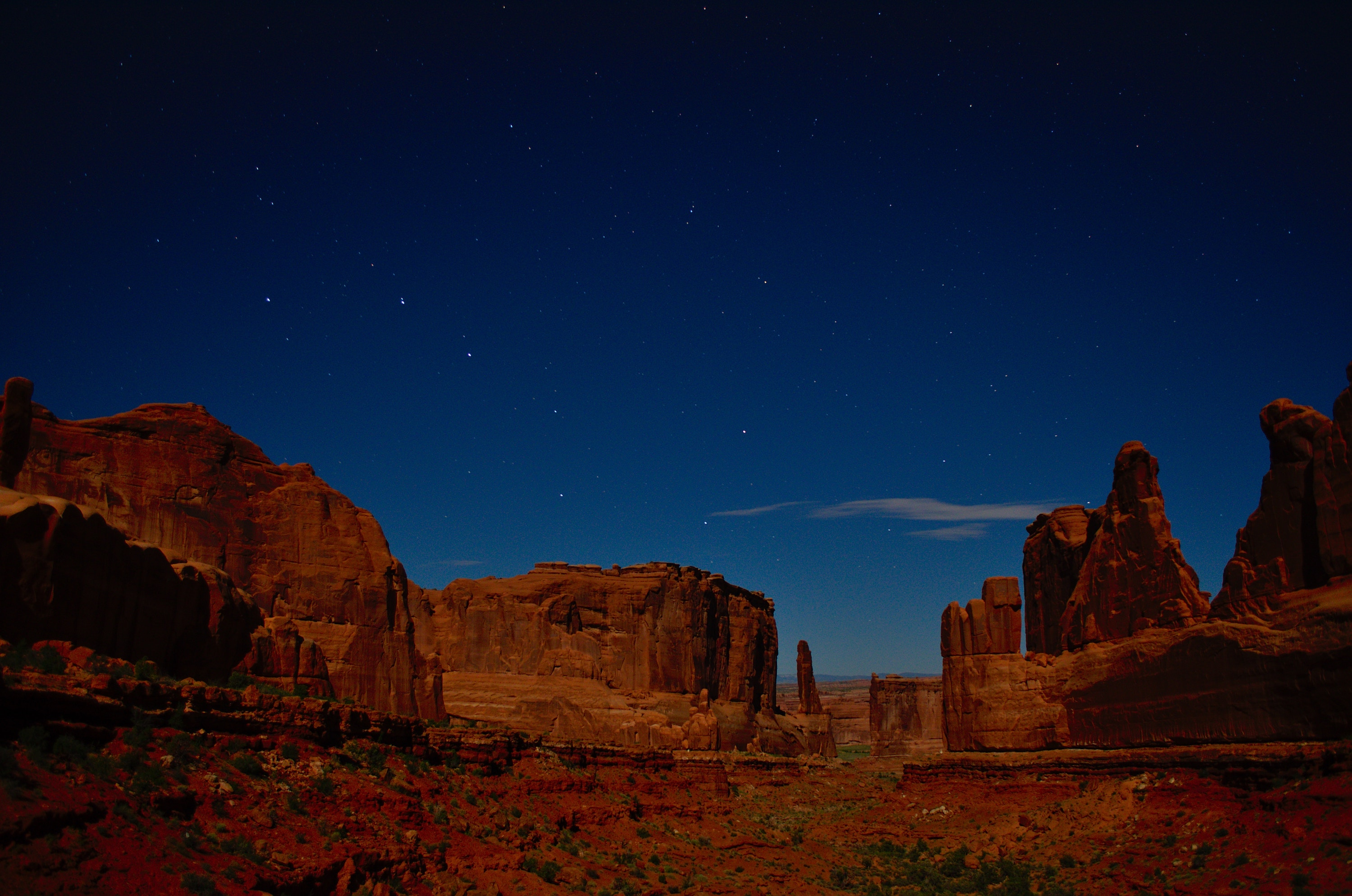 Big Dipper over Arches National Park