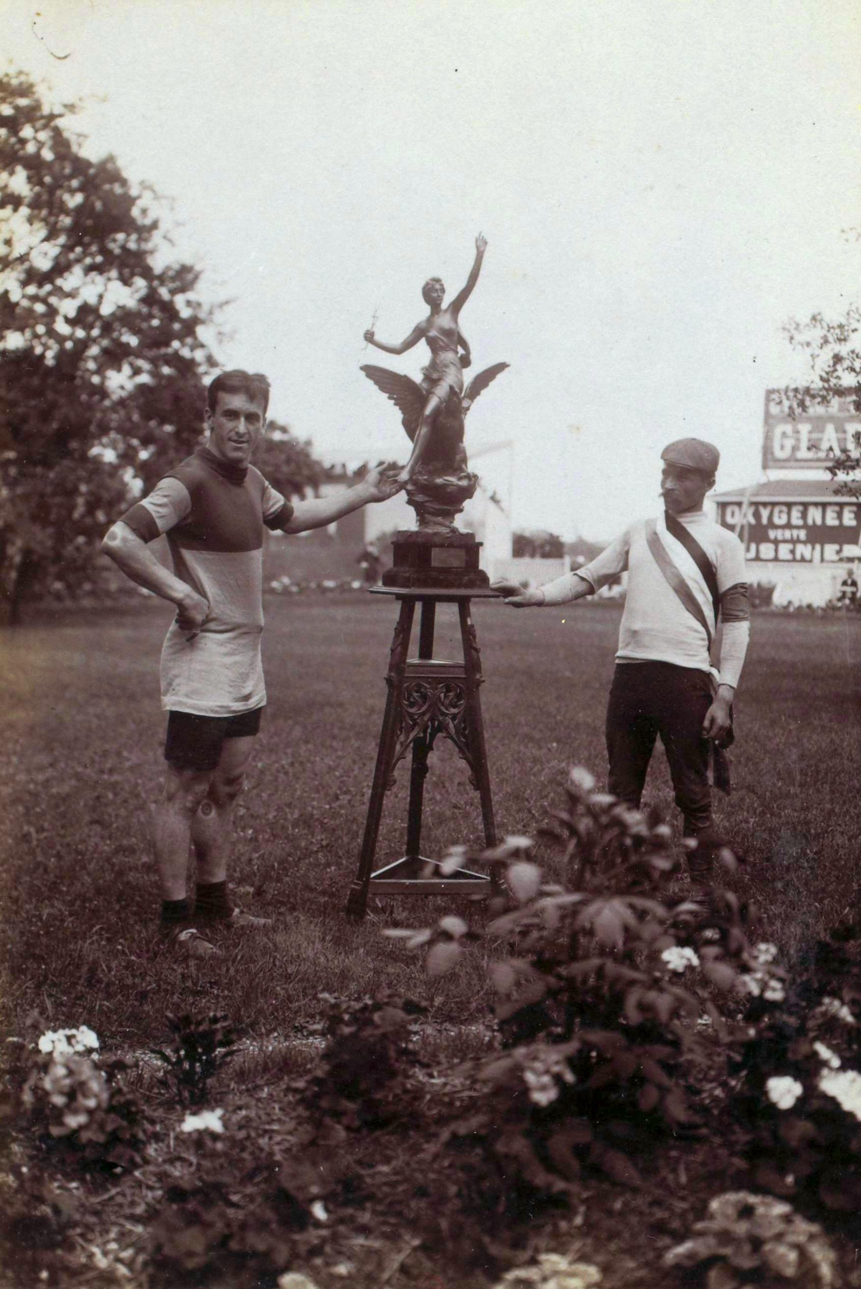 First Tour de France final victory trophy, 1903