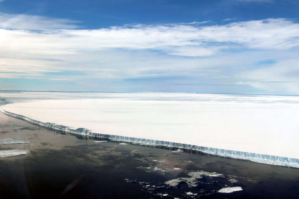 Iceberg A-68A, Antarctic