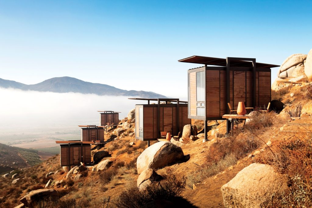 Hotel Endémico, Encuentro Guadalupe, Valle de Guadalupe, Mexico
