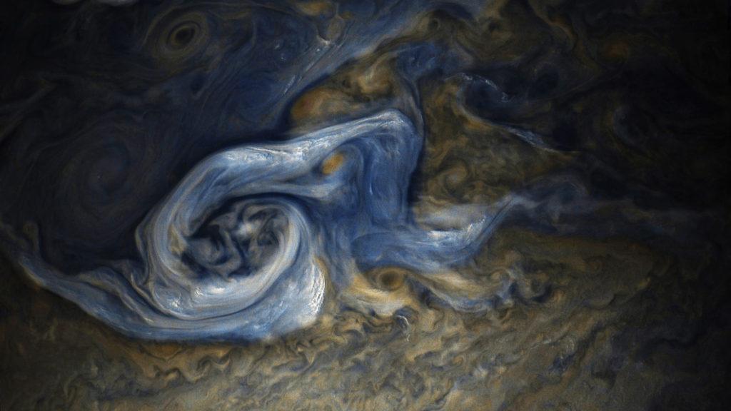 Jovian tempest, Jupiter