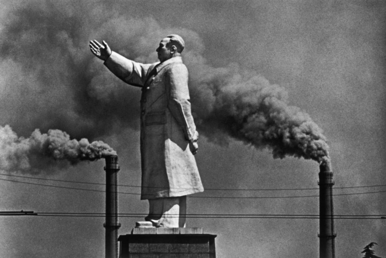 Mao Zedong Statue, Wuhan, China, 1971