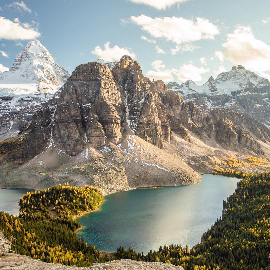 Mount Assiniboine, Alberta, Canada