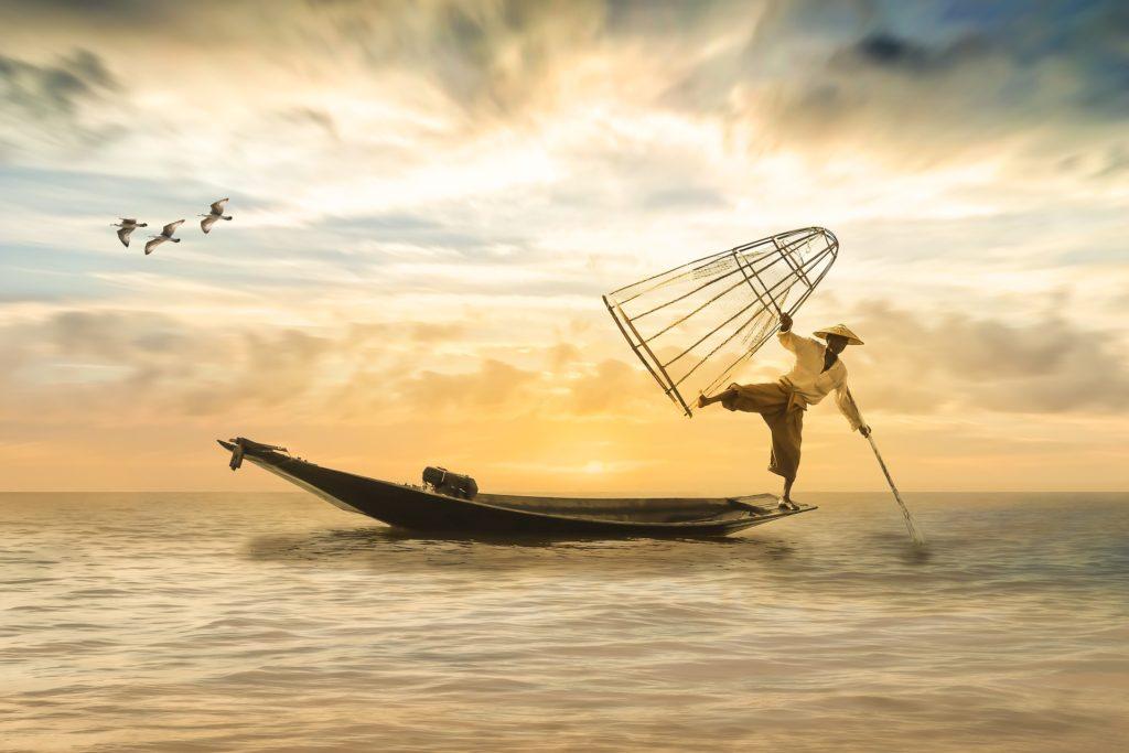 Fisherman, China