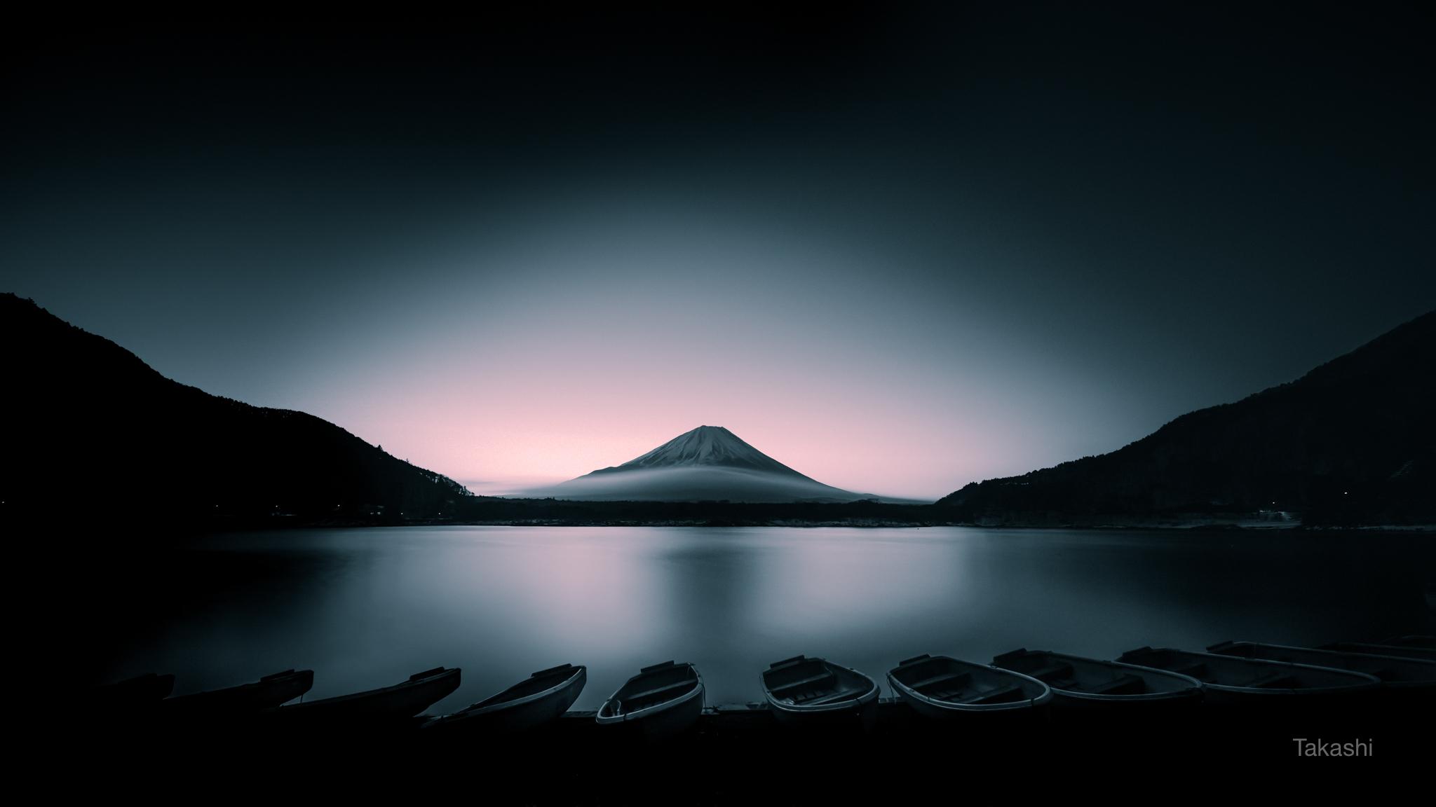 Mount Fuji at dawn