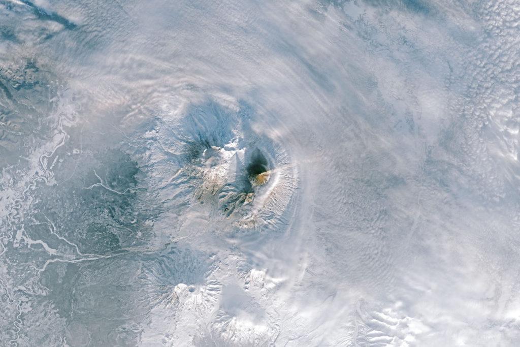 Klyuchevskaya Volcano Eruption, Kamtchatka, Russia