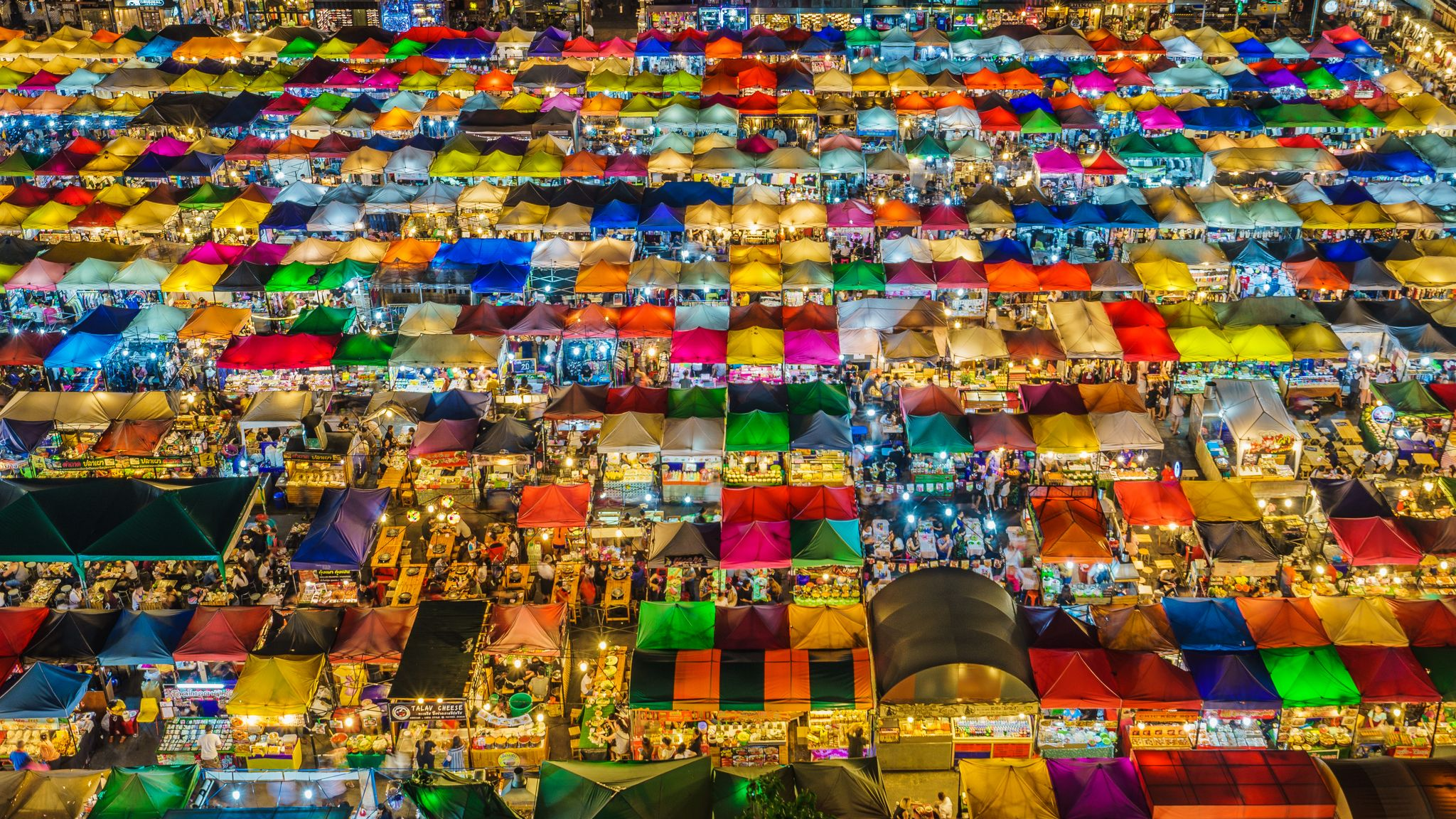 Night Market, Bangkok