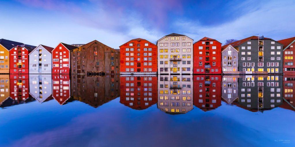 Reflexion, Trondheim, Norway