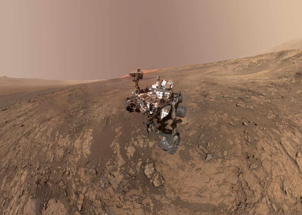 Curiosity Mars Rover, NASA