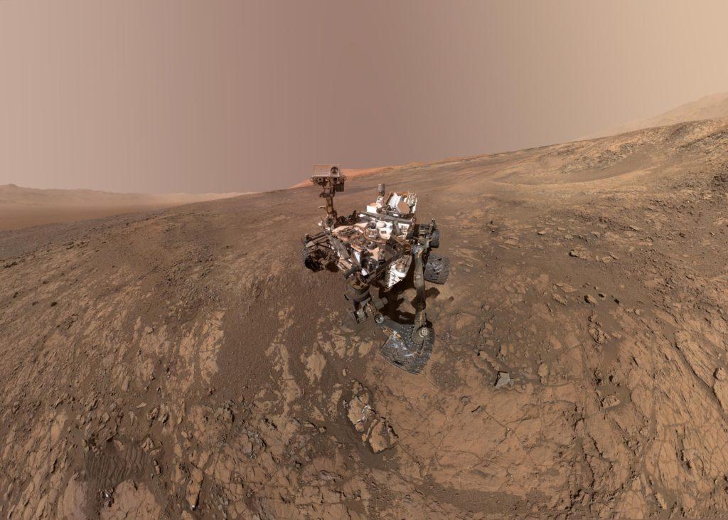 Curiosity Mars Rover, NASA
