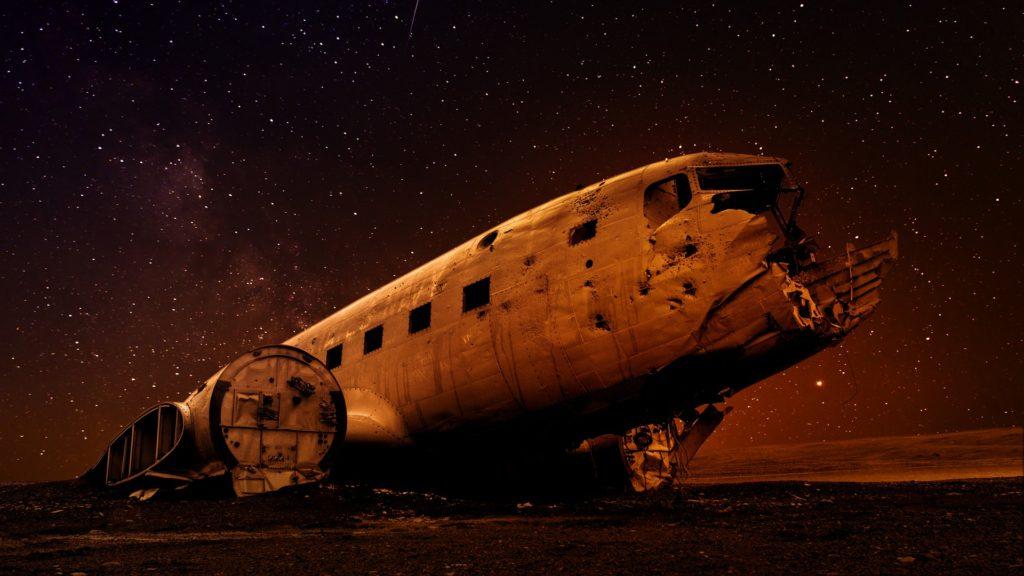 Wreck of plane, Sólheimasandur, Iceland