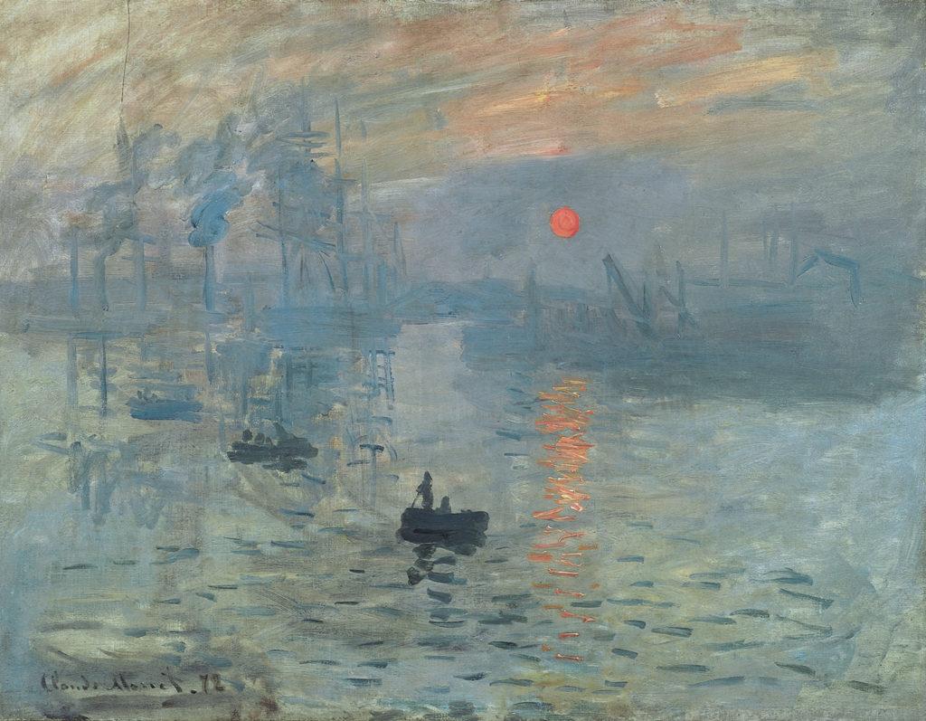 Impression, soleil levant, Claude Monet, 1872