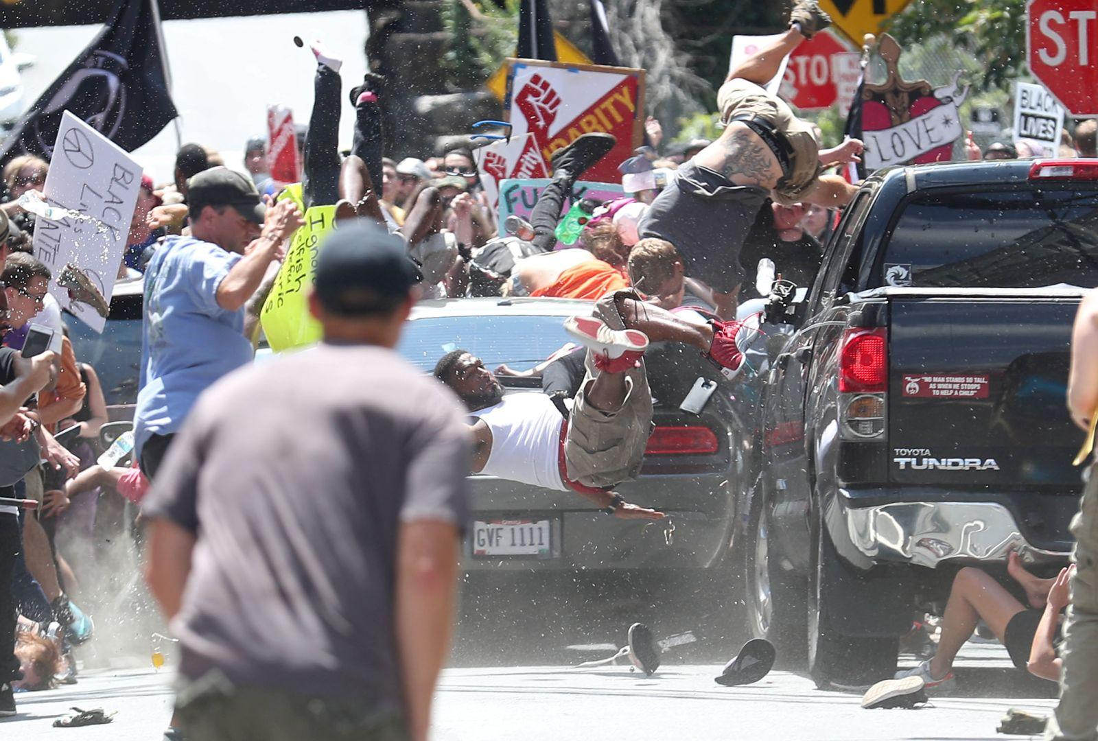 Car Attack, Charlottesville
