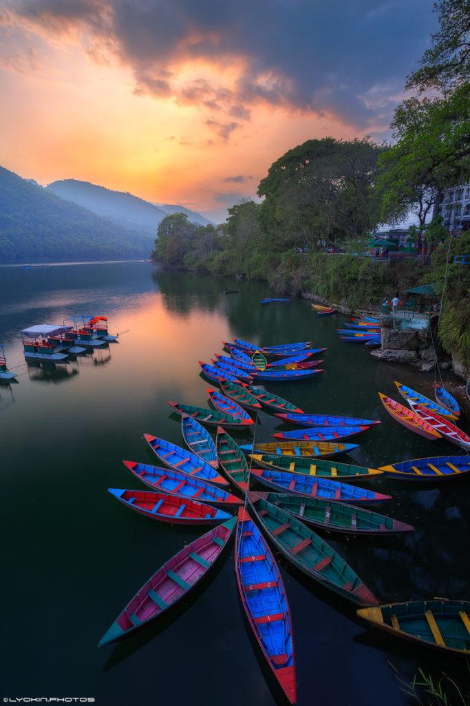 Lake Phewa, Nepal