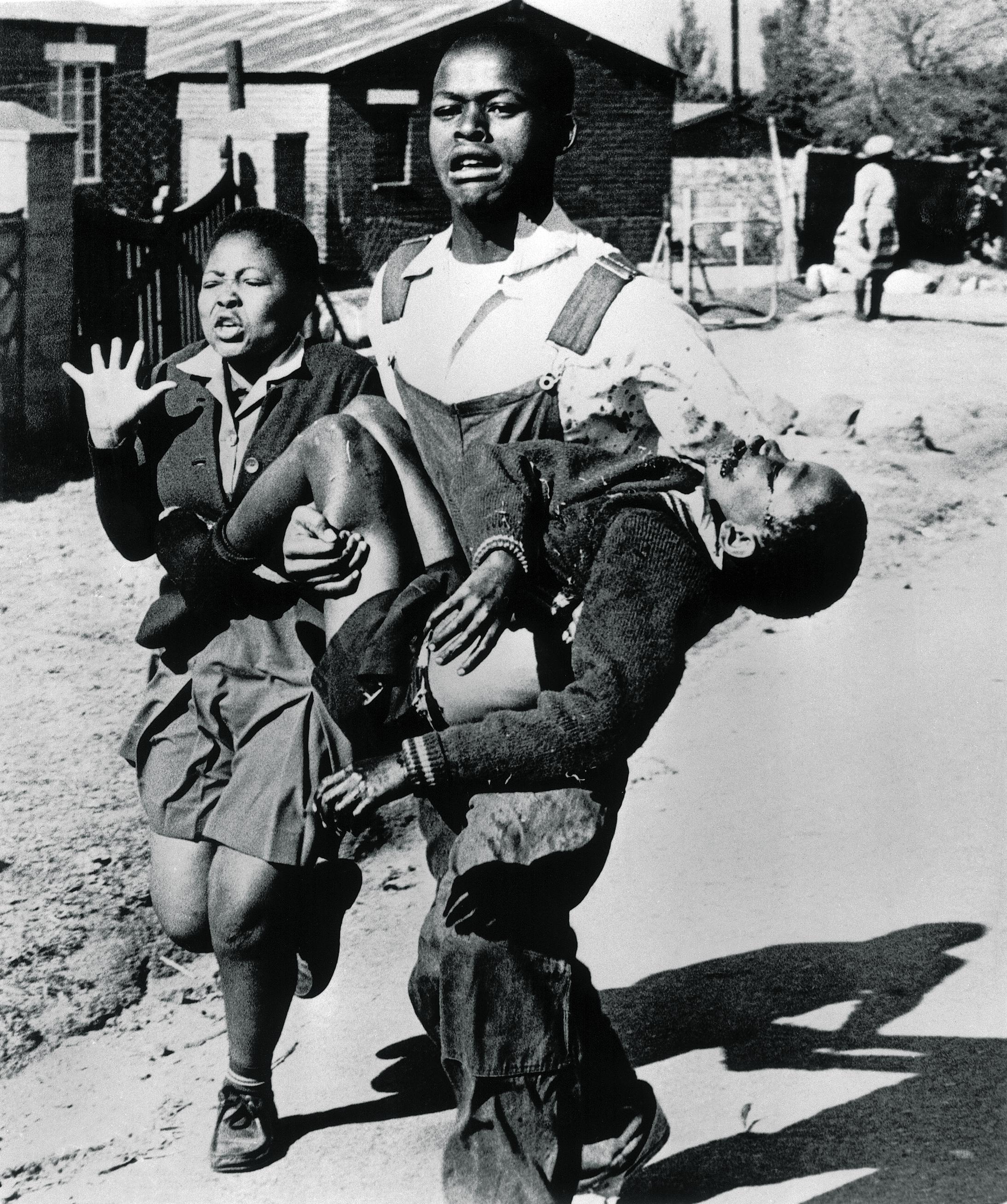 Hector Petersen in Soweto, South Africa, June 1976