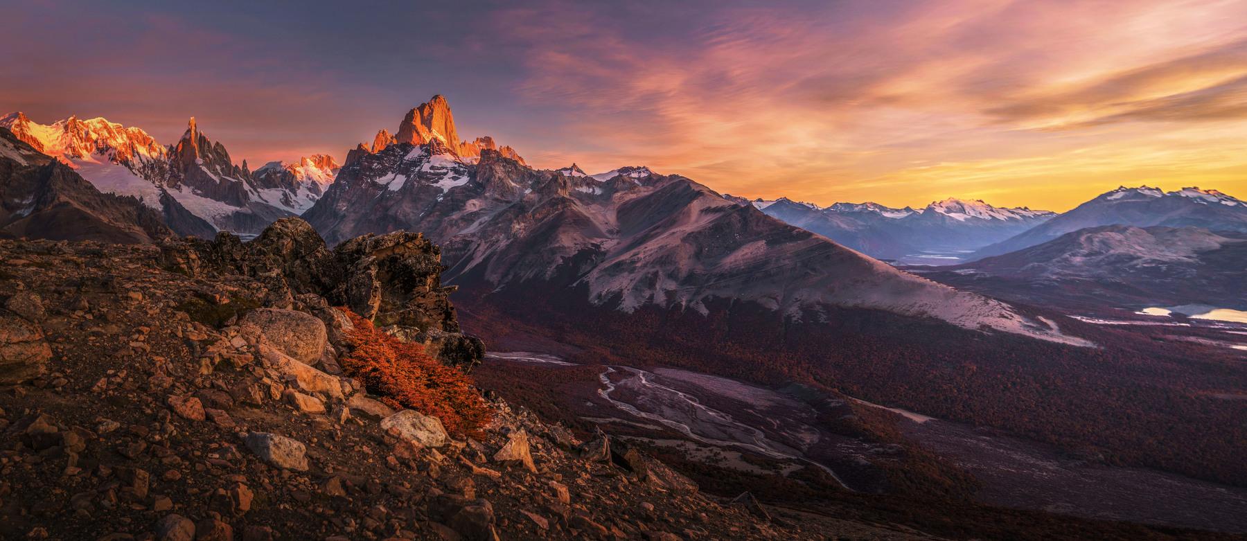 Dawn in Patagonia