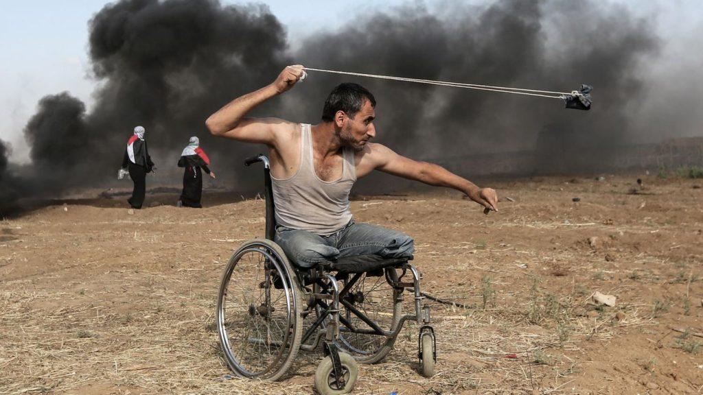 Protestation in Palestine