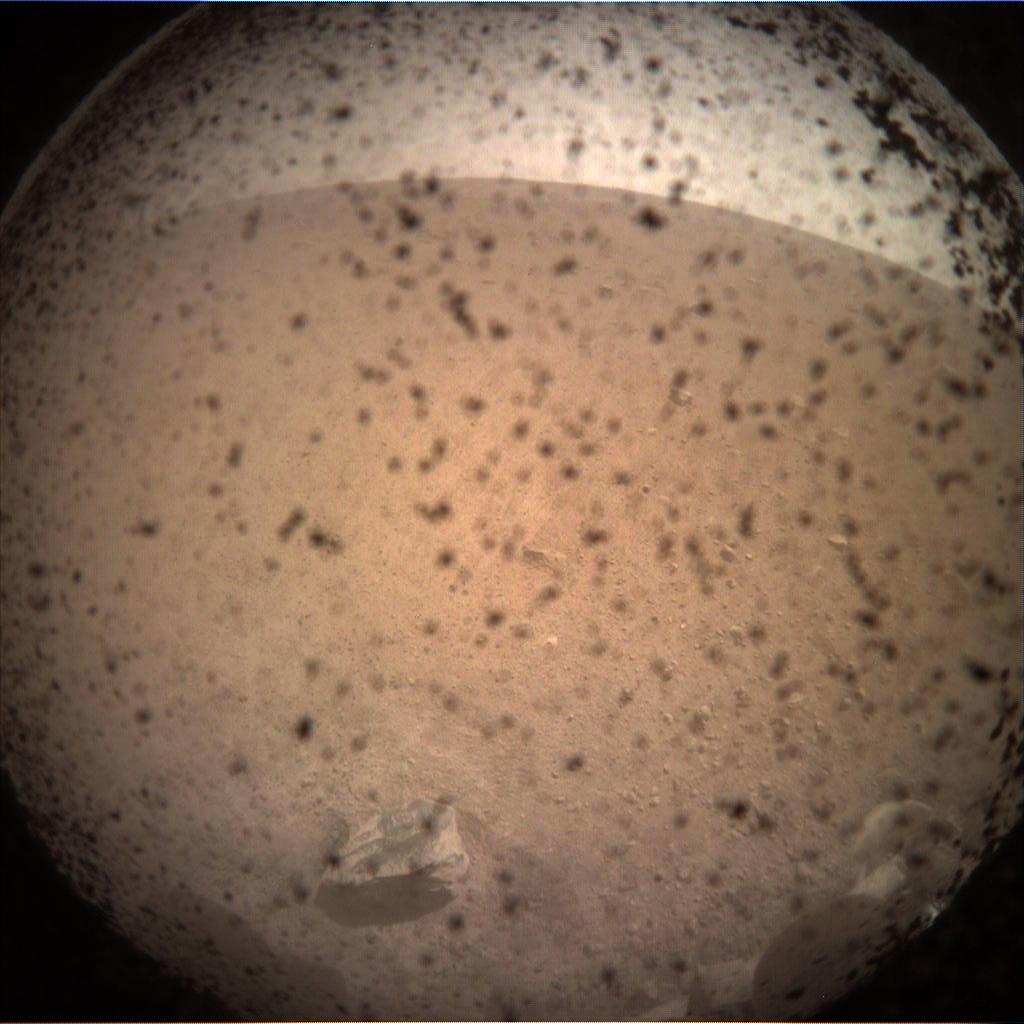 InSight Mars Sol 0
