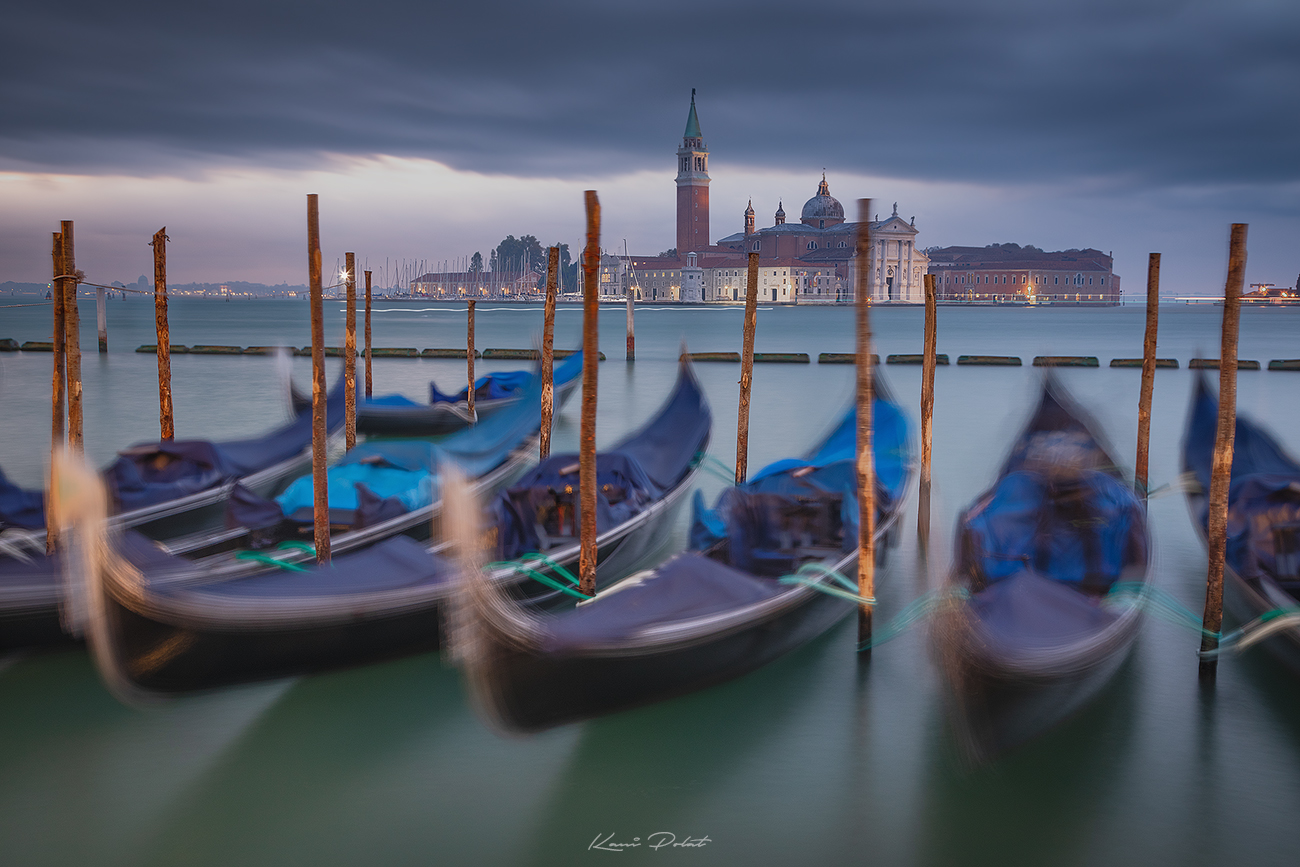 Morning in Venice, Italy