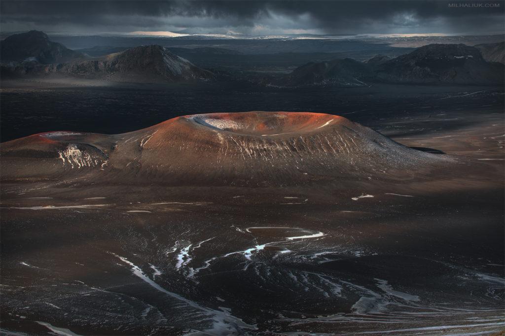 Volcanoes land