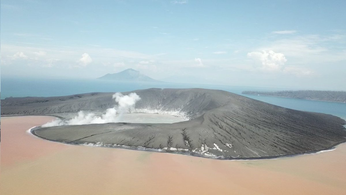 Anak Krakatoa, Indonesia, January 2019