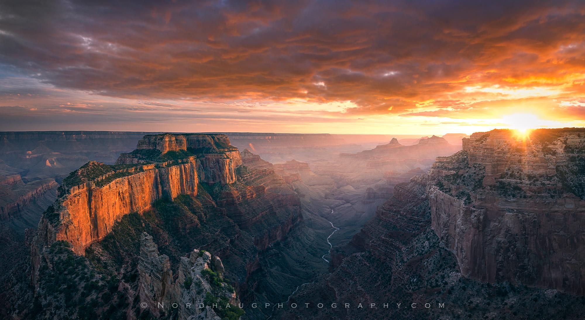 Sunset, Cape Royal, Grand Canyon National Park, USA
