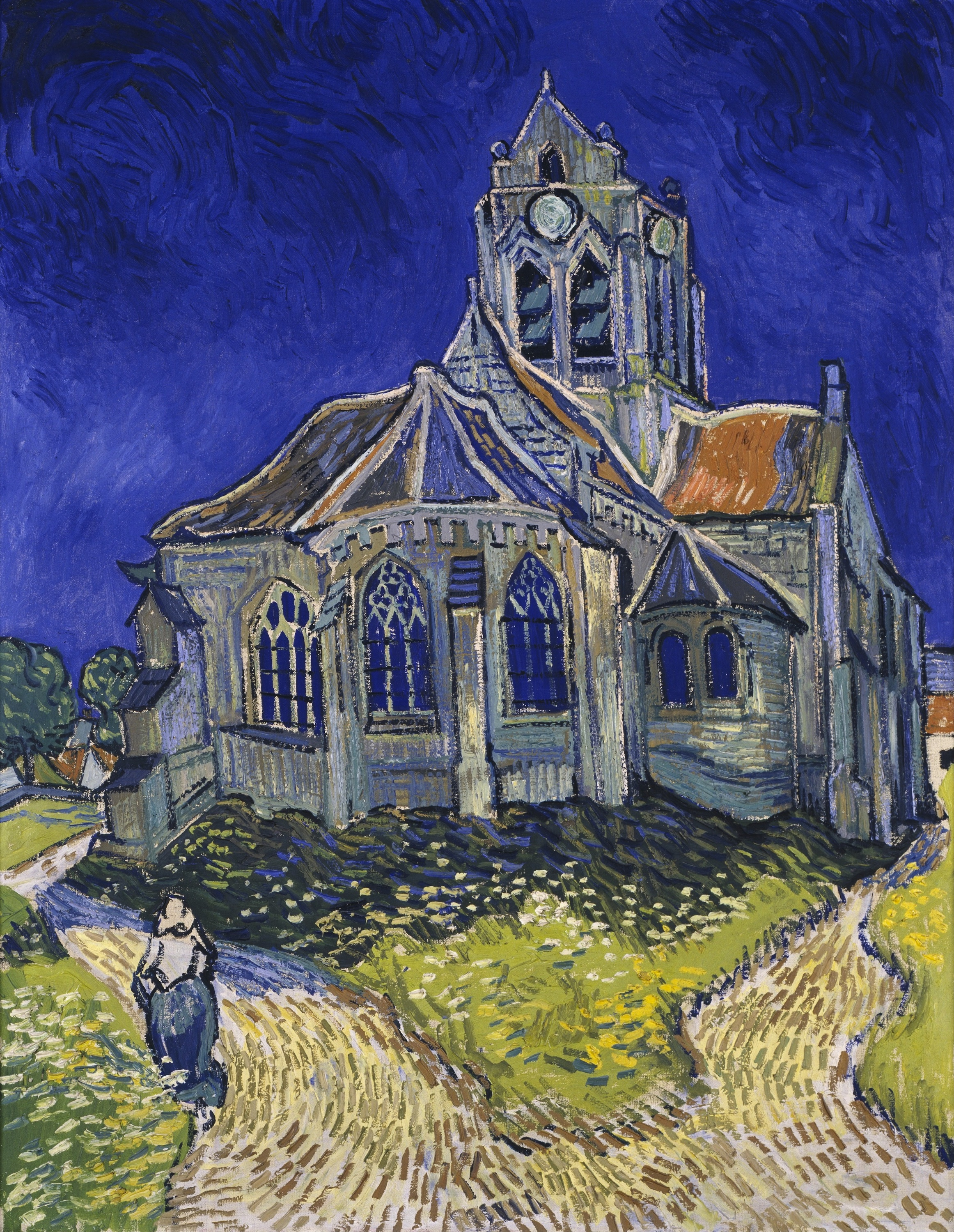 The Church in Auvers-sur-Oise, Vincent Van Gogh