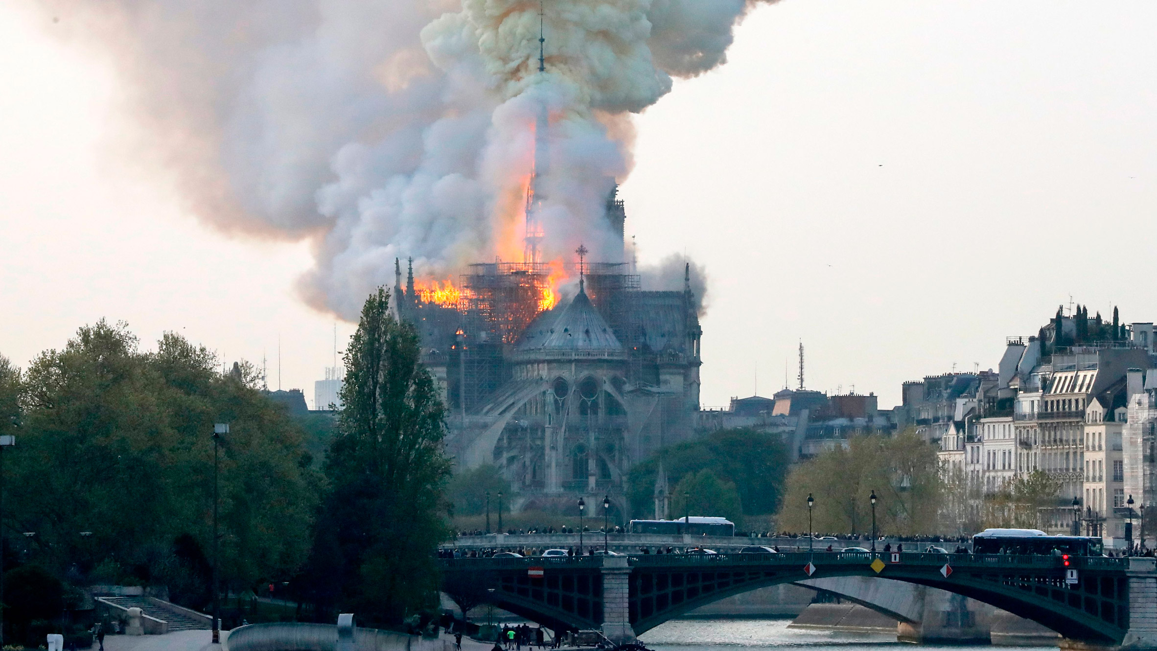 Notre-Dame de Paris fire (15 April 2019)