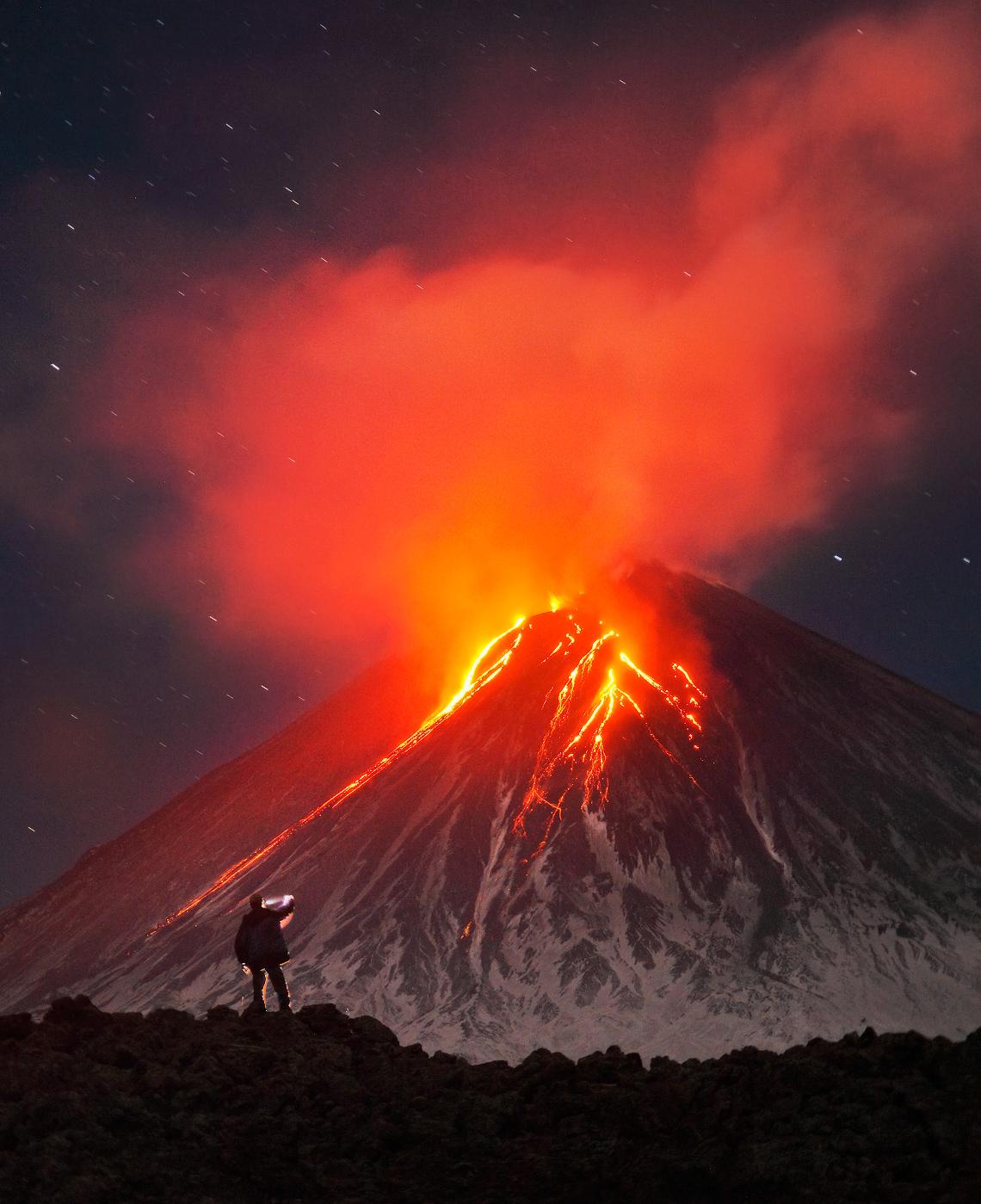 Klyuchevskaya Sopka eruption