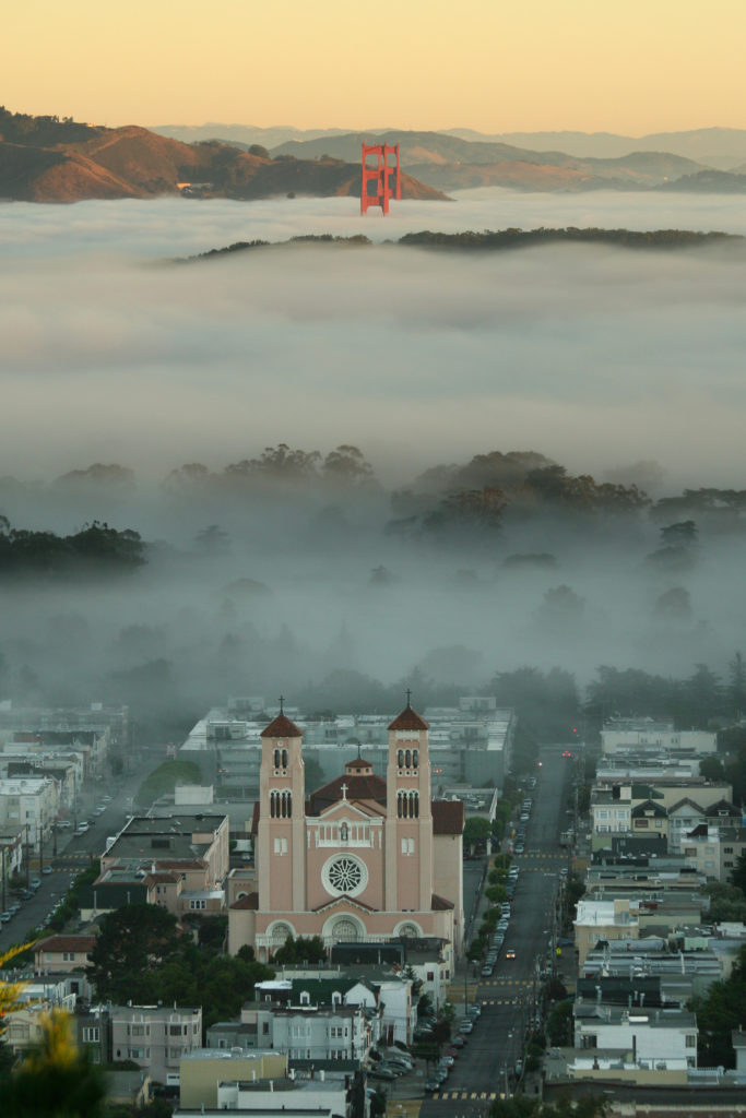 Fog in San Francisco