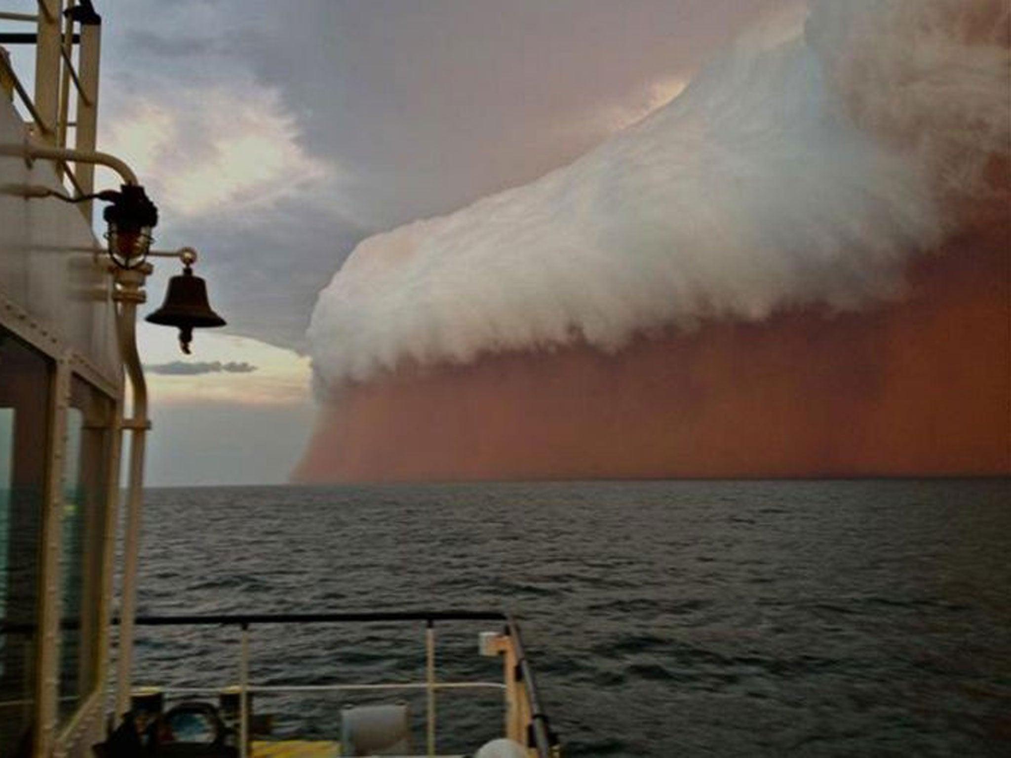 Dust storm, Australia