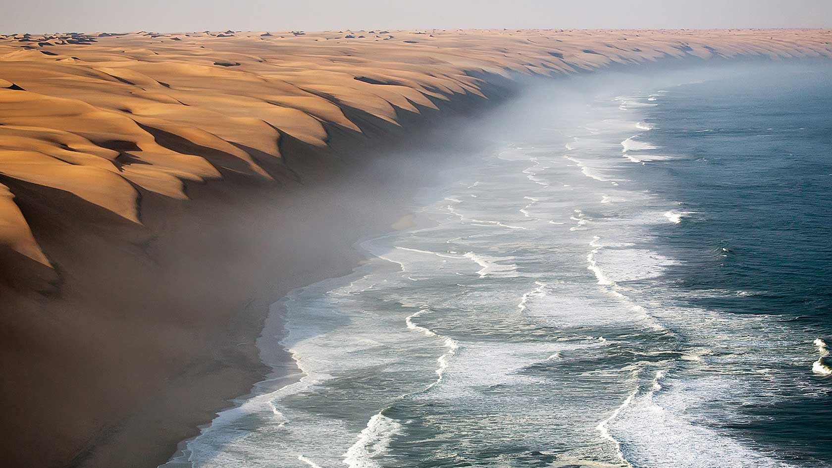 Namib Desert facing the Ocean, Namibia